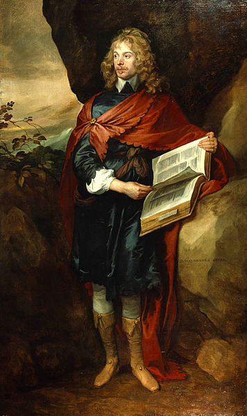 Sir John Suckling by Anthony van Dyck, 17th century