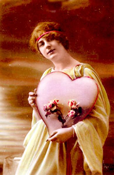 Valentine's Day Image, circa 1910