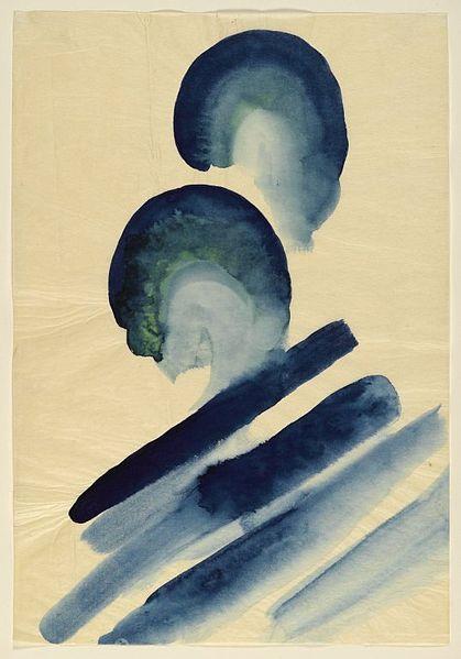 Blue #2 by Georgia O'Keeffe, circa 1916