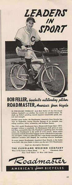 Bob Feller for Roadmaster, 1941