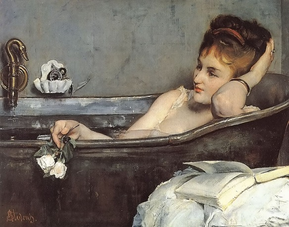 Le Bain by Alfred Stevens