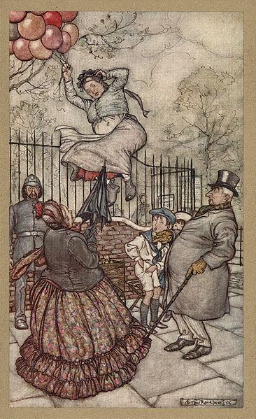 Peter Pan in Kensington Gardens, 1907