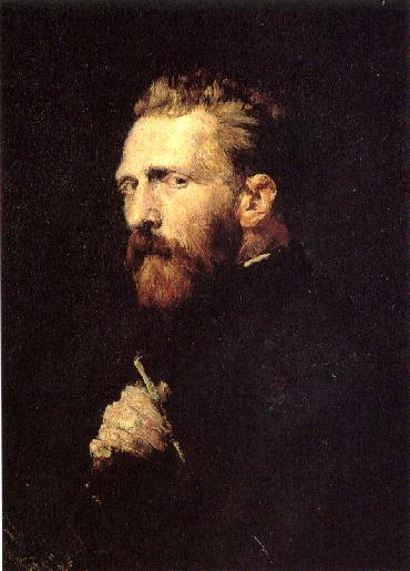 Portrait of Vincent van Gogh by John Peter Russell, 1886