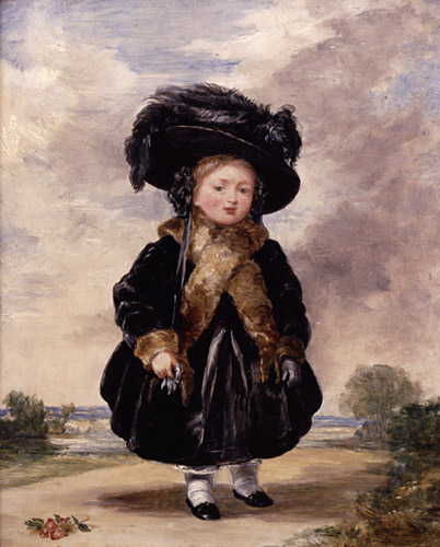 Princess Victoria aged Four by Stephen Poyntz Denning, 1823