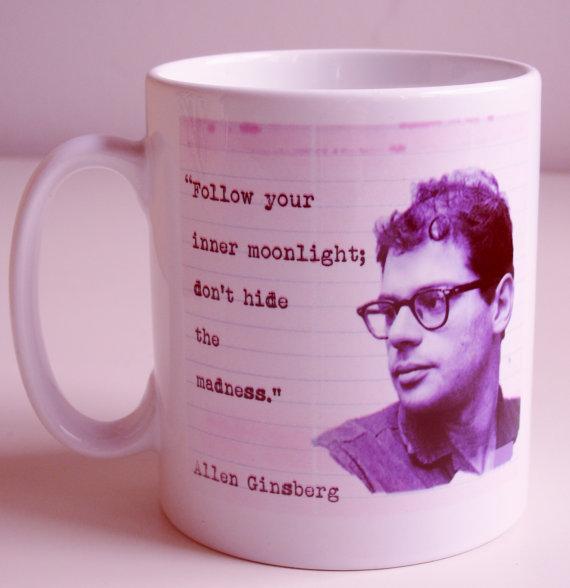 Allen Ginsberg Mug by kookie Bazaar