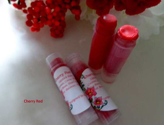 Cherry Red Lipstick Balm by Dezigned by Nature
