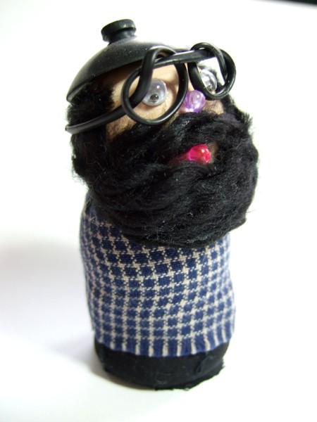 Ginsberg Wood Figurine by Wee Wood Be Pals