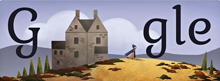 Google Doodle Charlotte Bronte