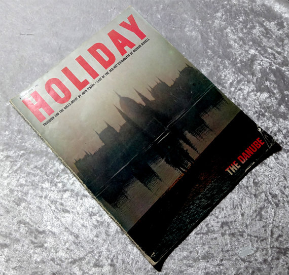 Holiday Magazine August 1966 at Oakwood View