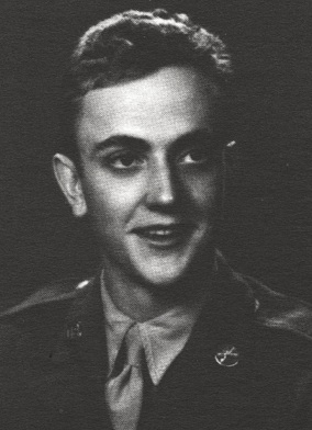 Kurt Vonnegut in his army days