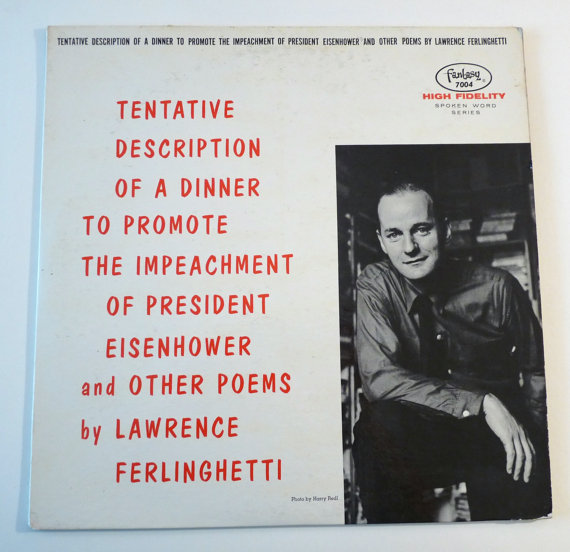 Lawrence Ferlinghetti Poetry Record Album