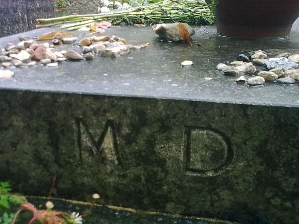 The tomb of Marguerite Duras