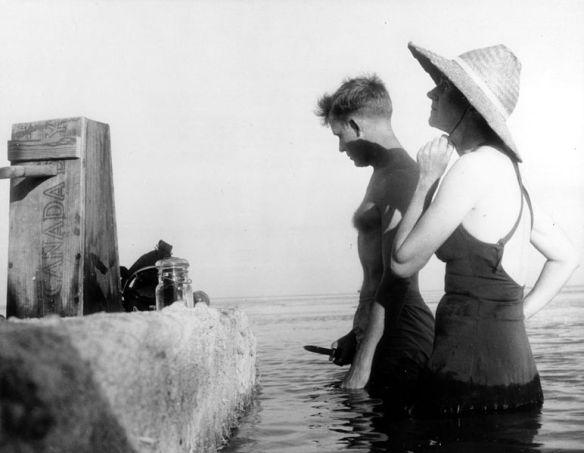 Robert Hines and Rachel Carson