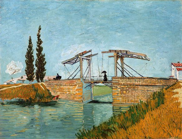 The Drawbridge by Vincent van Gogh, 1888