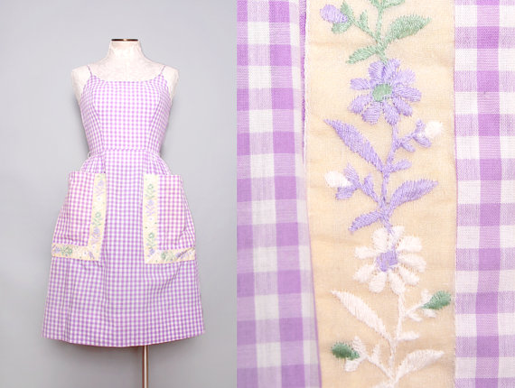 1950s Purple Vintage Sundress at Fancy That Vintage
