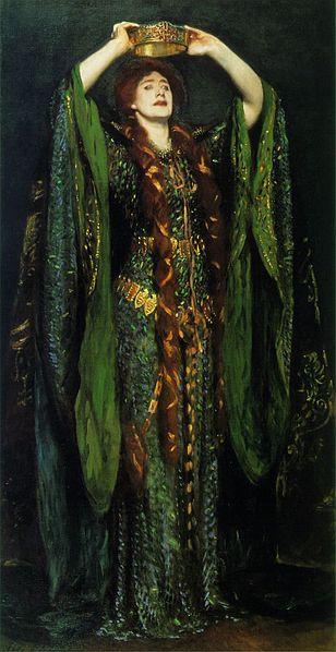 Ellen Terry as Lady Macbeth by John Singer Sargent, 1889