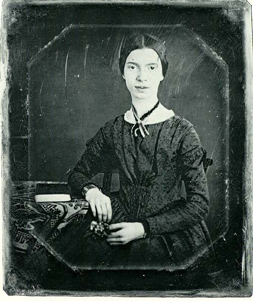 Emily Dickinson as a teenager