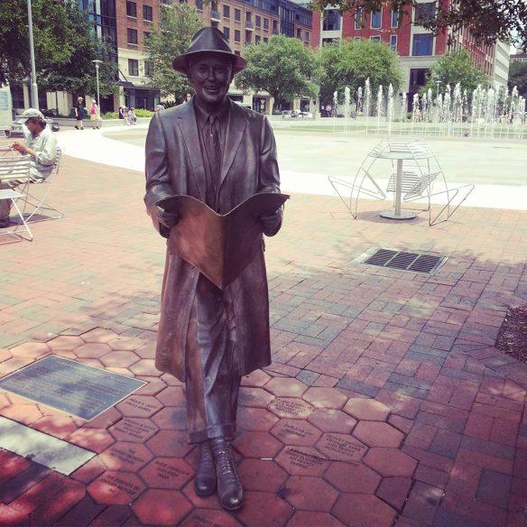 Johnny Mercer Statue