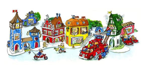 Richard Scarry Google Doodle