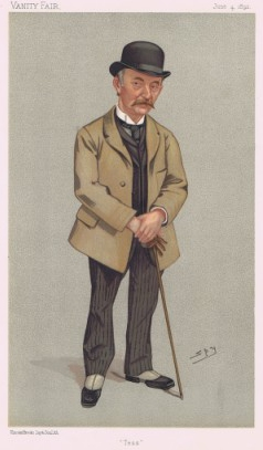 Thomas Hardy in Vanity Fair, 4 June 1892