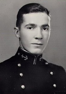 1929 Naval Academy Yearbook Photo of Robert A. Heinlein
