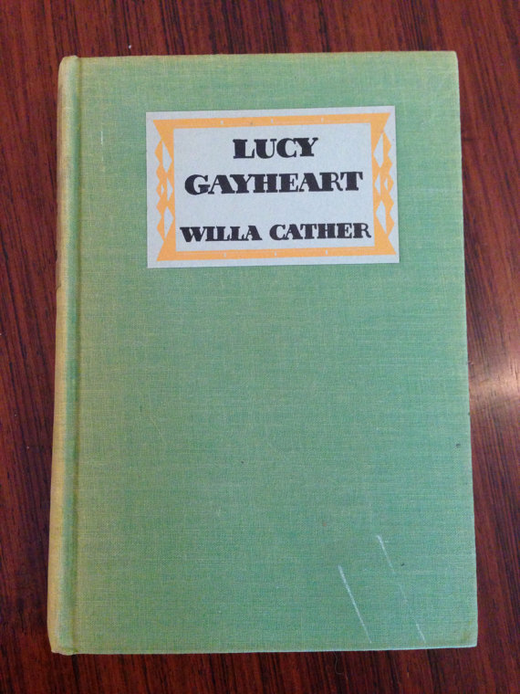 Lucy Gayheart by Willa Cather at Dali's Dalliance
