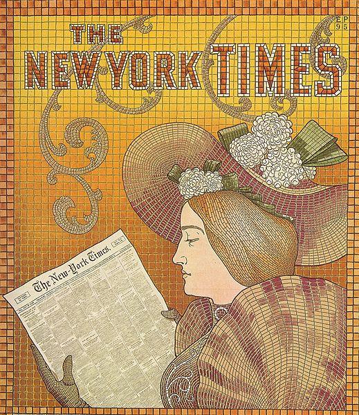 NY Times Advert, 1895