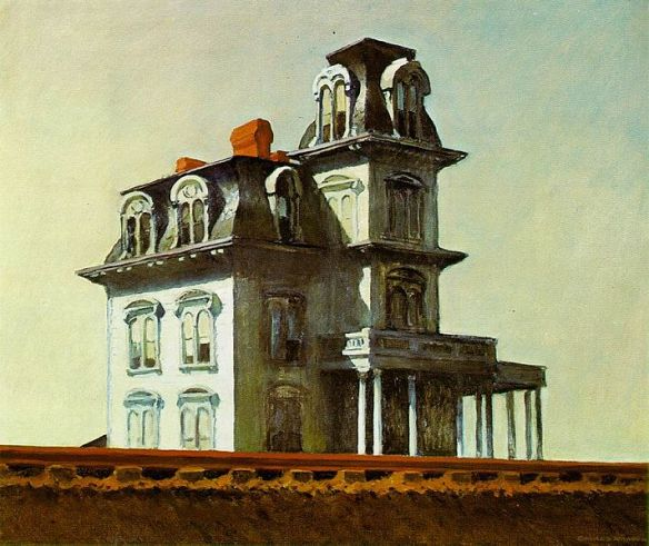 The House by the Railroad by Edward Hopper, 1925