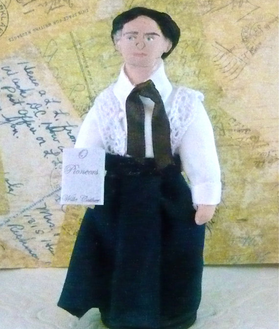 Willa Cather Doll by Uneek Doll Designs