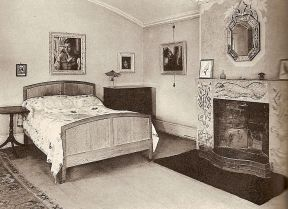 Bedroom at Ham Spray House