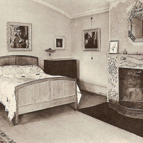 Bedroom at Ham Spray House