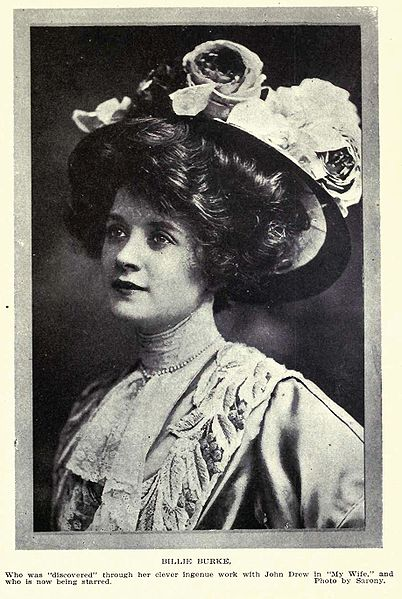 Billie Burke in Overland Monthly, February 1909