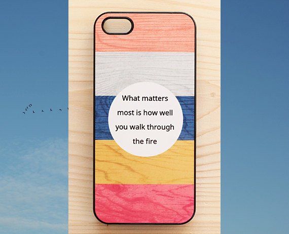Charles Bukowski Quote Phone Case by Another Case