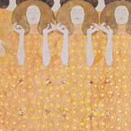 Chor de Paradiesengel by Gustav Klimt, 1902