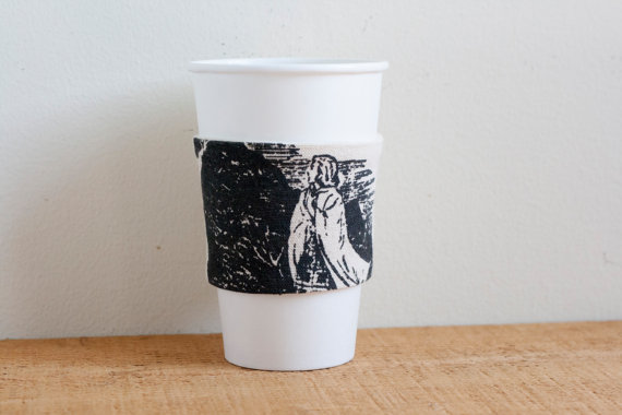 The Clue of the Whistling Bagpipes Coffee Cup Sleeve by Shipwrecks & Bravery