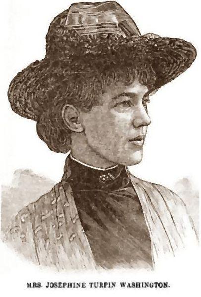Josephine Turpin Washington, 1891