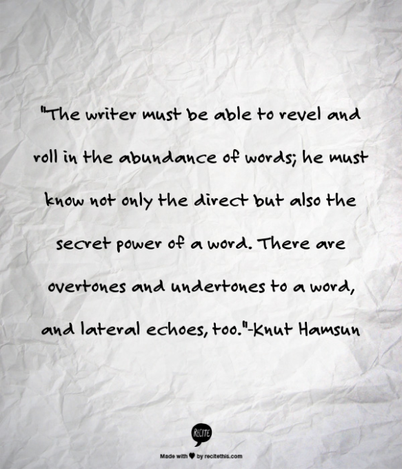 Knut Hamsun Quote