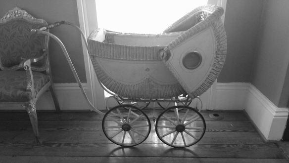 Mary Flannery O'Connor baby pram