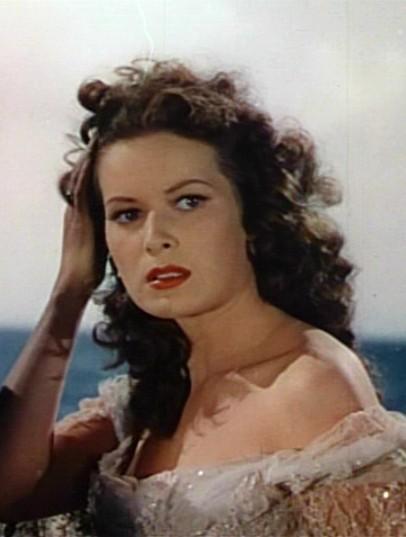 Maureen O'Hara in The Black Swan