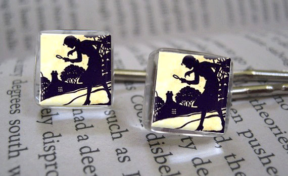 Nancy Drew Bobby Pins by Goddess Glass Company