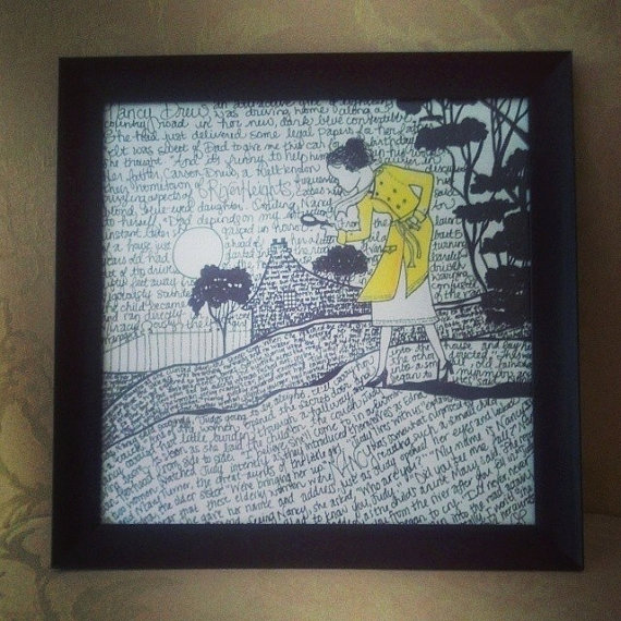 Nancy Drew Illustration by LivArtistically