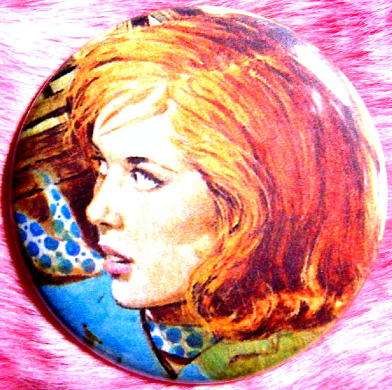 Nancy Drew Pocket Mirror by Fussy Gussy