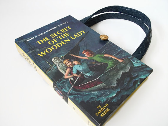 Nancy Drew Purse by Retrograndma