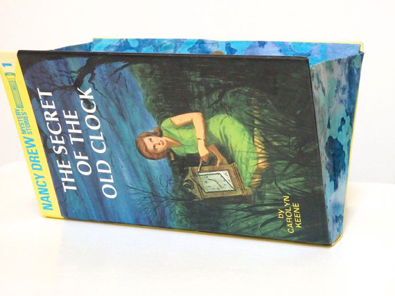 Nancy Drew The Secret of the Old Clock Wallet by Roki Handbags