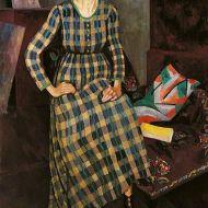 Nina Hamnett by Roger Fry, 1917