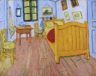 The Bedroom by Vincent van Gogh, October 1888