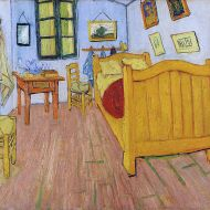 The Bedroom by Vincent van Gogh, October 1888