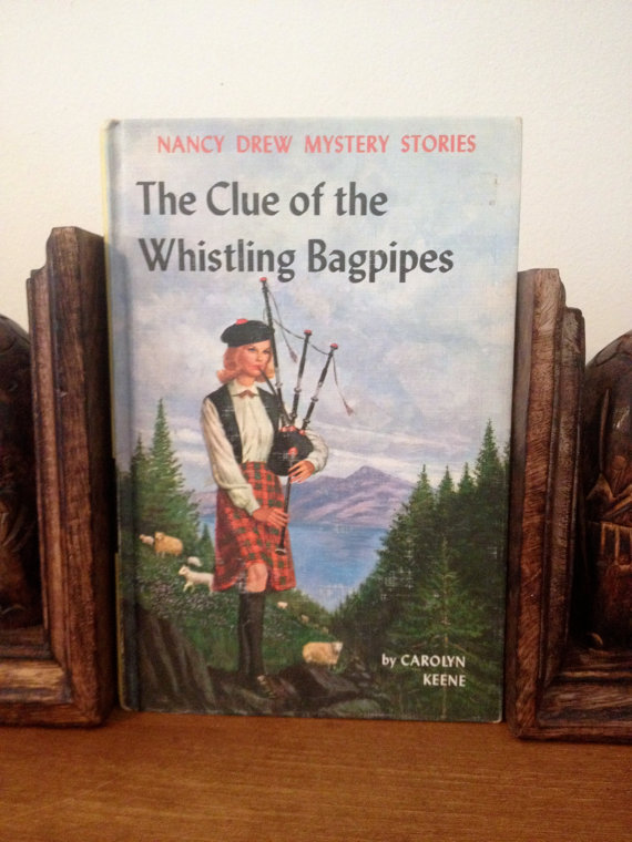 The Clue of the Whistling Bagpipes at Kelsey's Literary Loves