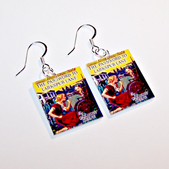 The Password to Larkspur Lane Earrings by P Tierney Designs