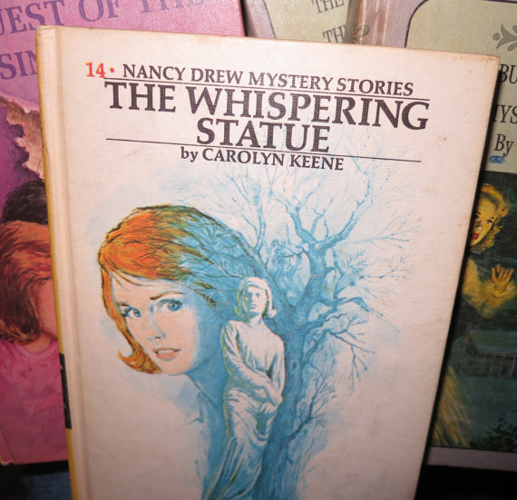 The Whispering Statue at Saltsman Soap
